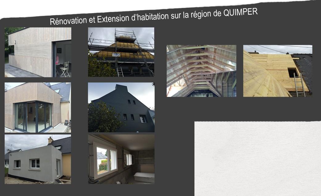 Rénovation et Extension sur la région de QUIMPER
