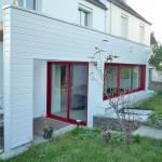 Extension de maison bois à Quimper