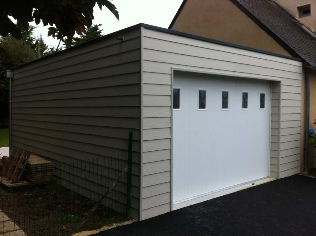 Nos r alisations d 39 am nagement d 39 habitation le loup habitat for Extension de garage en bois